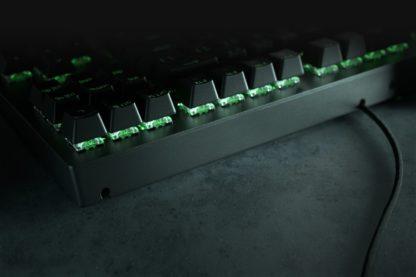 BLACKWIDOW  GREEN SWITCH -کیبورد  بازی ریزر مدل